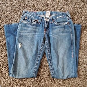 Authentic True Religion Bell Bottoms
